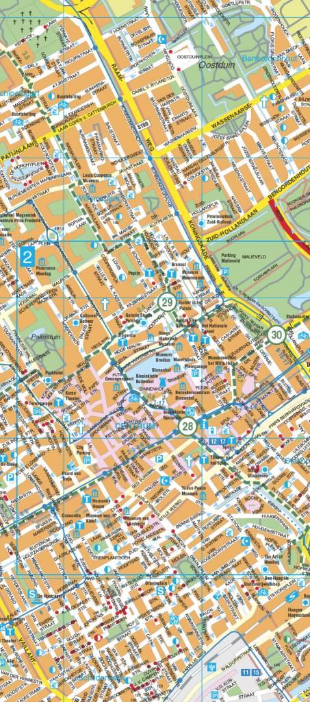 Falk Stadsplattegrond & Fietskaart Den Haag met Delft, picture 251830223