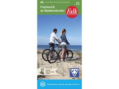 Falk Compact Fietskaart 21. Friesland & De Waddeneilanden, picture 267240878