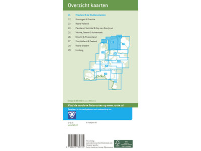 Falk Fietskaart 21. Friesland & De Waddeneilanden, picture 267242006