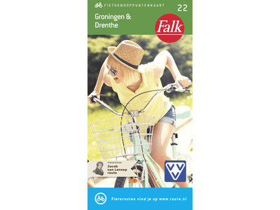 Falk Compact Fietskaart 22. Groningen & Drenthe, picture 268260893