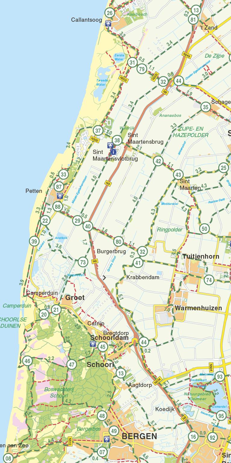 Falk Fietskaart 23. Noord-Holland, picture 268262219