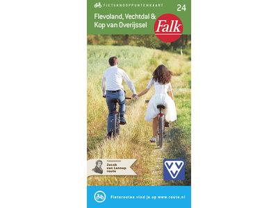 Falk Compact Fietskaart 24. Flevoland, Vechtdal & Kop van Overijssel, picture 268263791