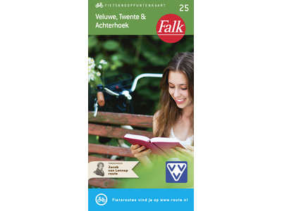 Falk Compact Fietskaart 25. Veluwe, Twente & Achterhoek, picture 268272197