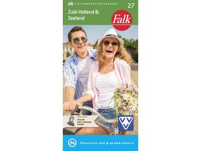 Falk Compact Fietskaart 27. Zuid-Holland & Zeeland, picture 268277471