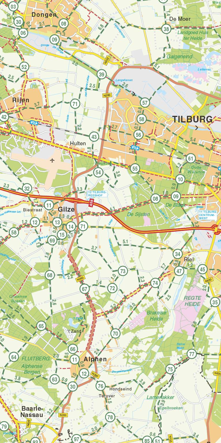 Falk Fietskaart 28. Noord-Brabant, picture 268279190