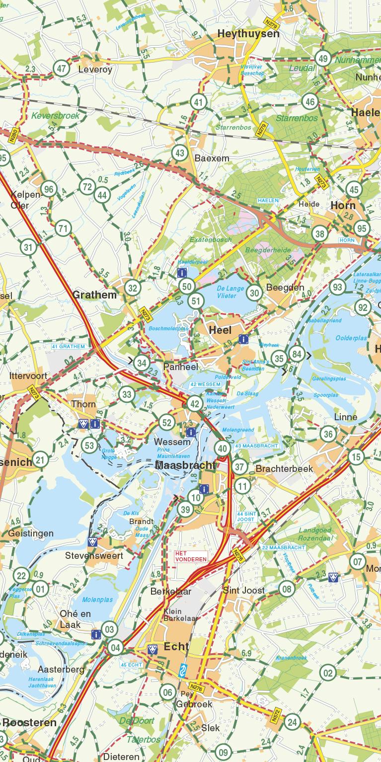 Falk Compact Fietskaart 29. Limburg, picture 268281149
