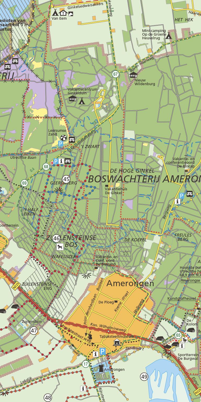 Staatsbosbeheer Wandelkaart 25 Utrechtse Heuvelrug, picture 276208075