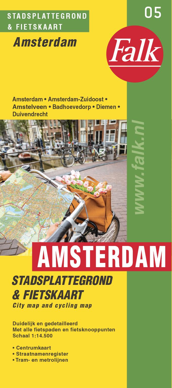 Falk Stadsplattegrond & fietskaart Amsterdam, picture 278847724