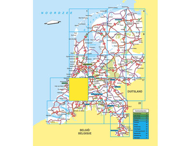 Falk Routiq autokaart Nederland Tab Map, picture 283737696