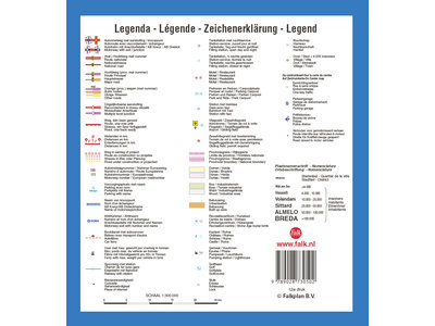 Falk Routiq autokaart Nederland Tab Map, picture 283737810