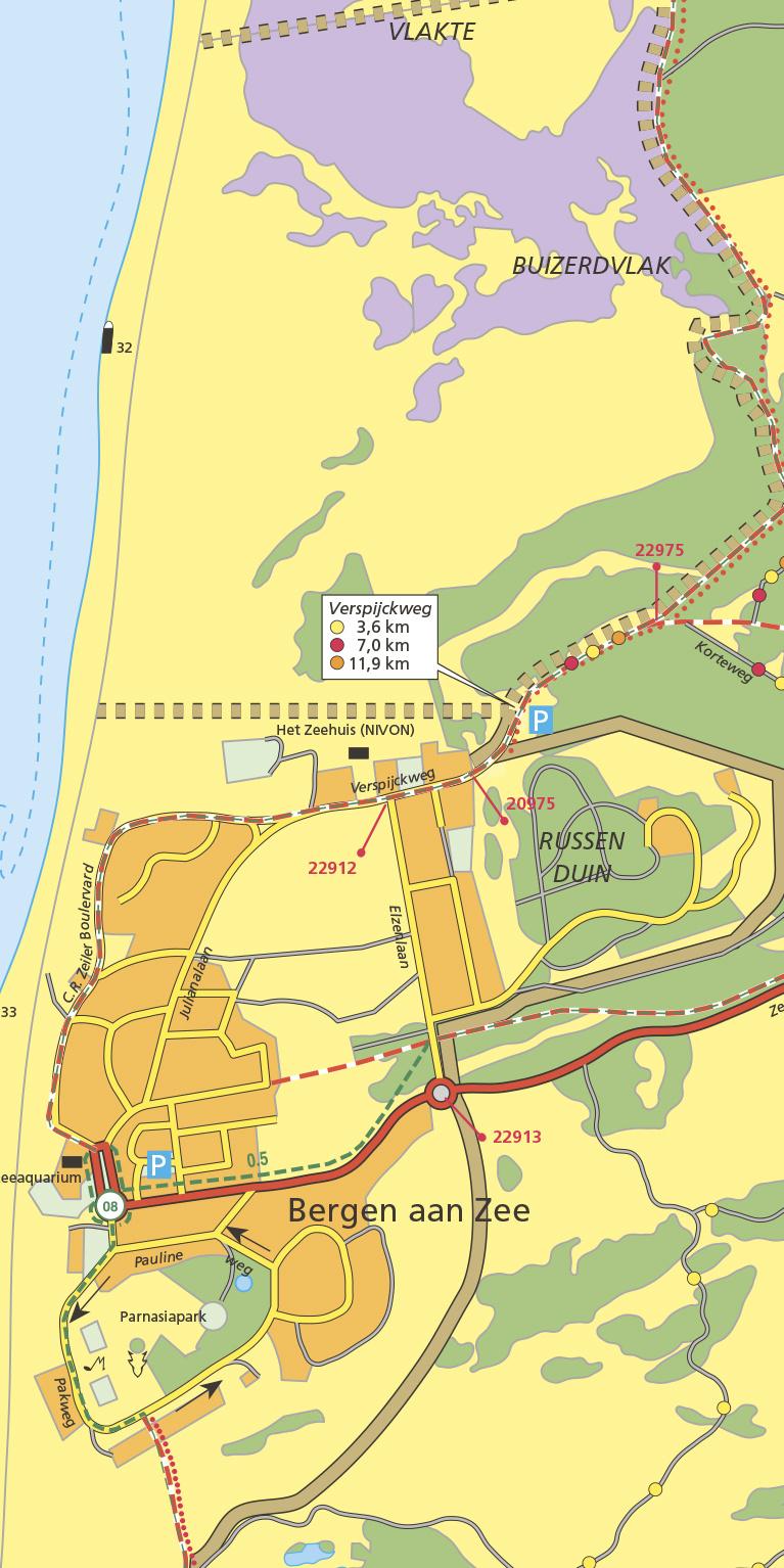 Staatsbosbeheer Wandelkaart 14 Schoorlse Duinen, picture 287685885