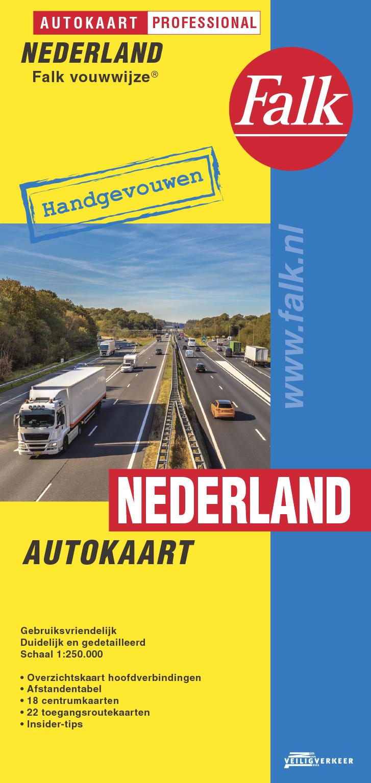 Falk Autokaart Nederland Professional, picture 306425235