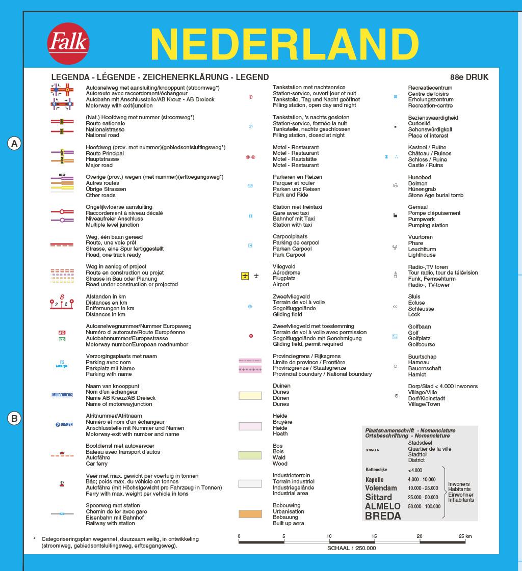 Falk Autokaart Nederland Professional, picture 306425424