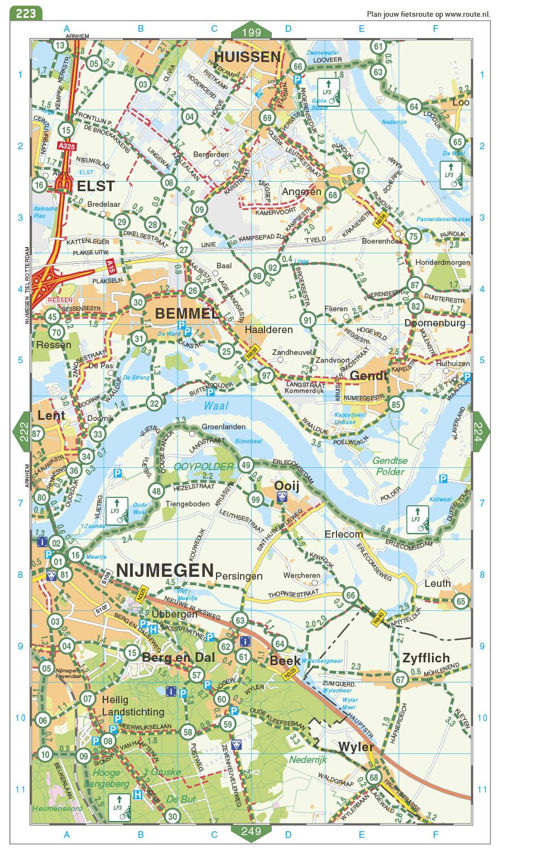 Falk Fietsatlas Nederland 2021, picture 312935594