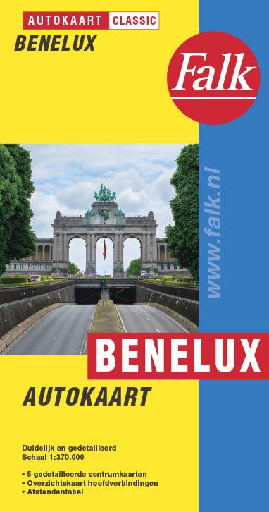 Falk Autokaart Benelux Classic, picture 312935698