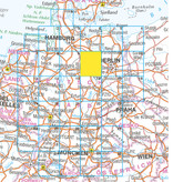 Falk Routiq autokaart Duitsland Tab Map, picture 328380523