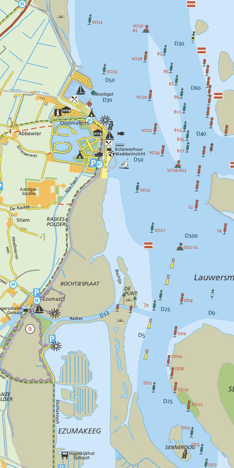 Staatsbosbeheer Wandelkaart 5 Lauwersmeer, picture 329265571