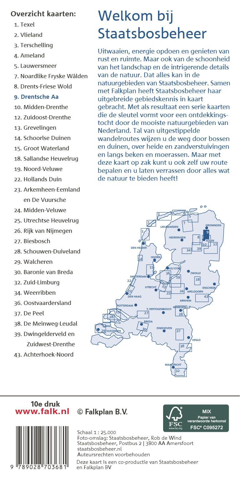 Staatsbosbeheer Wandelkaart 09. Drentsche A, picture 329265715