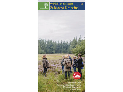 Staatsbosbeheer Wandelkaart 12. Zuidoost-Drenthe, picture 329265812