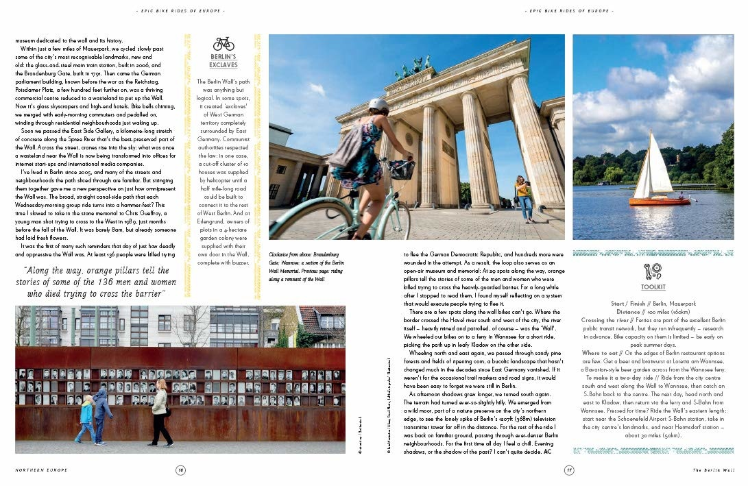 Lonely Planet Epic Bike Rides of Europe, picture 342485929