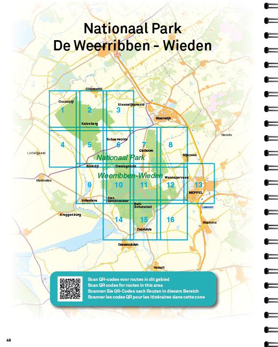 Falk Falk Wandelatlas Nederland - Wandelkaarten van 21 Nationale parken, picture 356496115