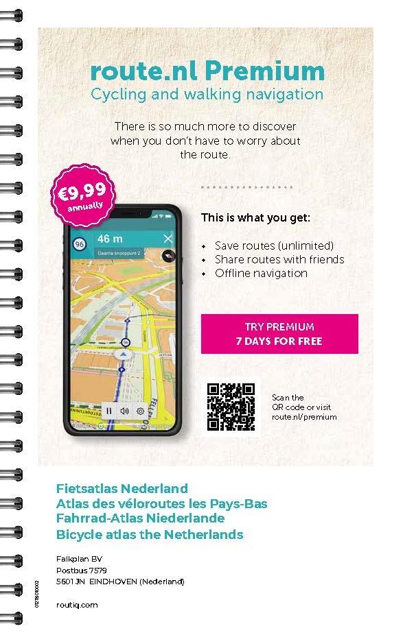 Routiq Routiq Fietsatlas Nederland 2021, picture 359080165