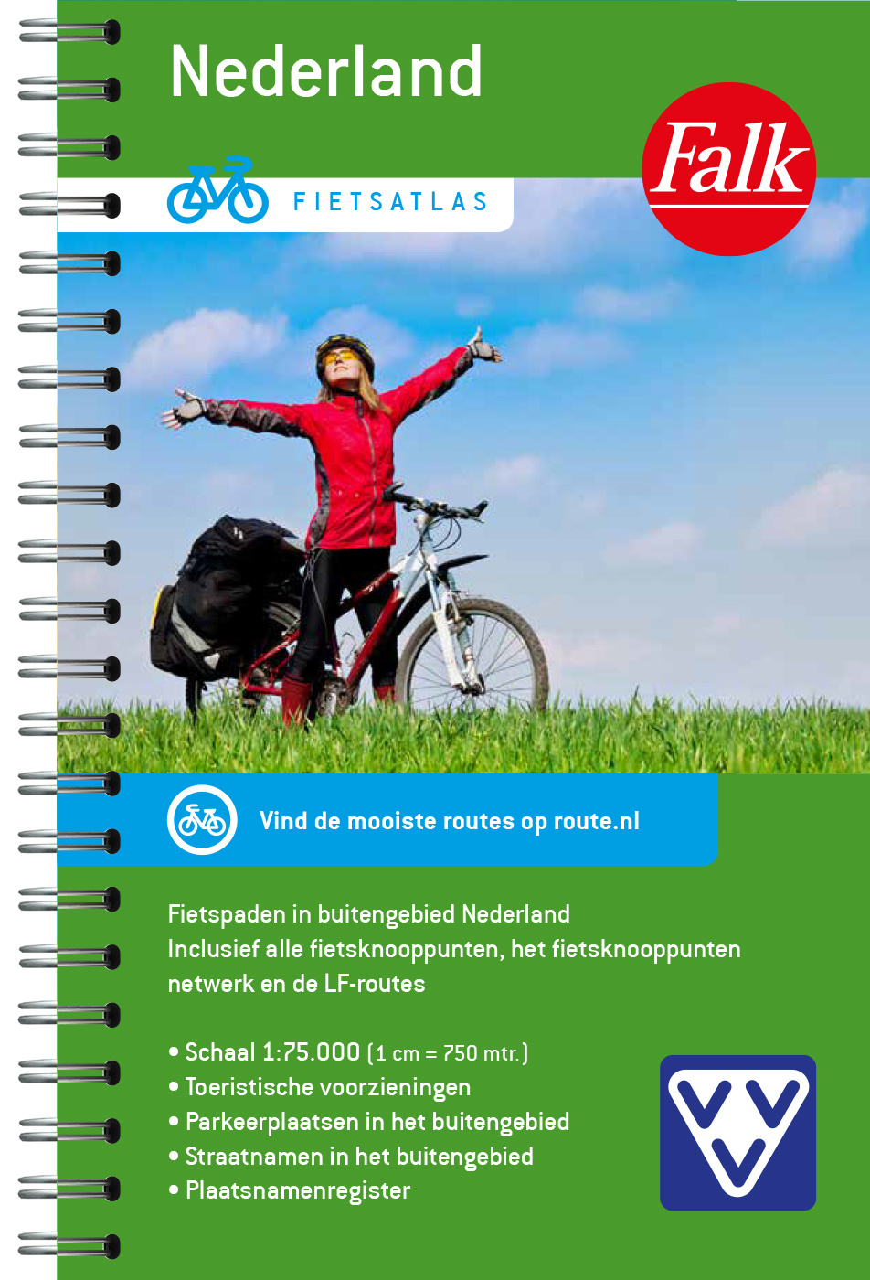Falk Fietsatlas Nederland 2021, picture 359198228
