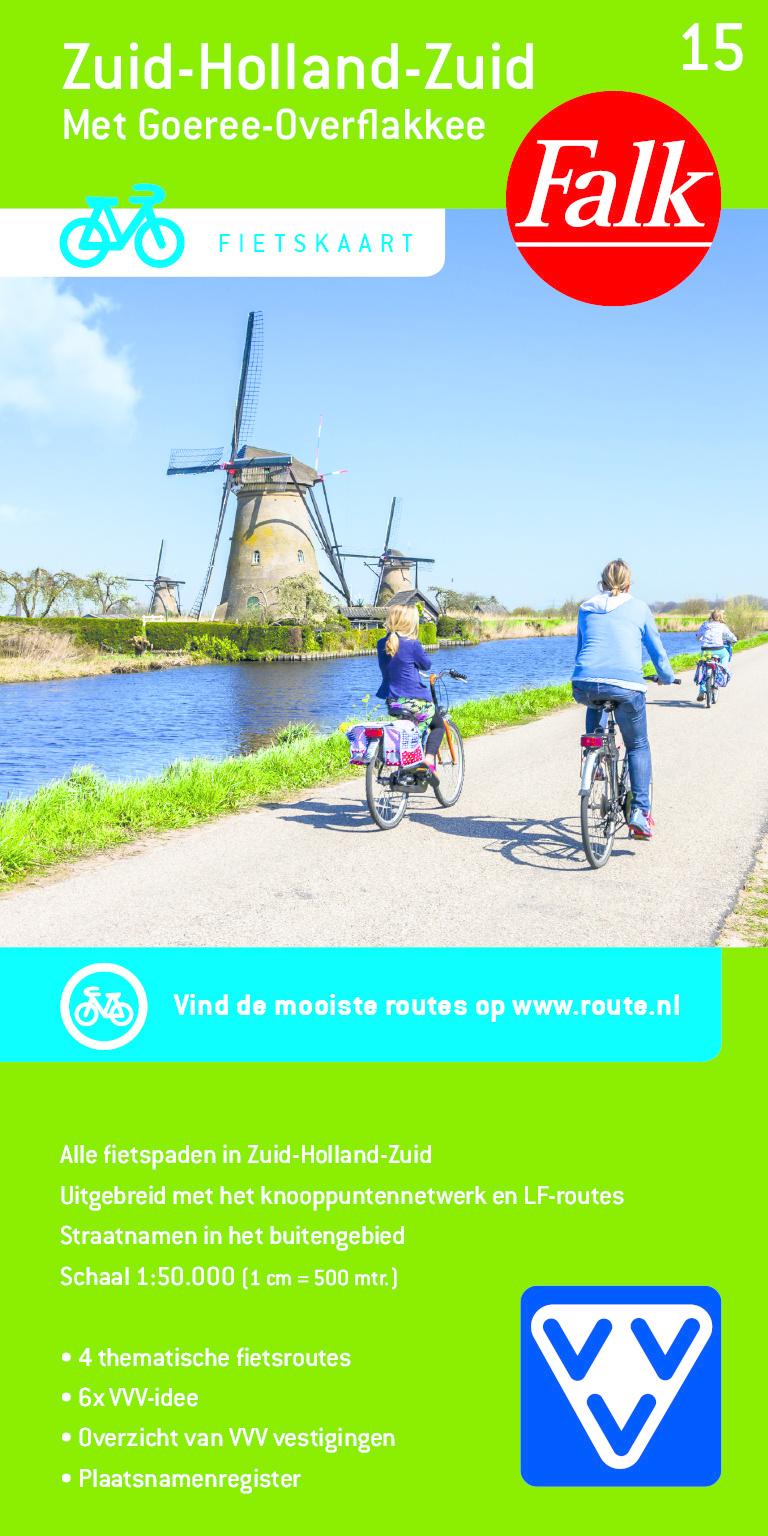 VVV Fietskaart 15. Zuid-Holland-Zuid, picture 366165478