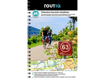 Routiq Routiq Fietsatlas Noordrijn-Westfalen 2021, picture 368633277