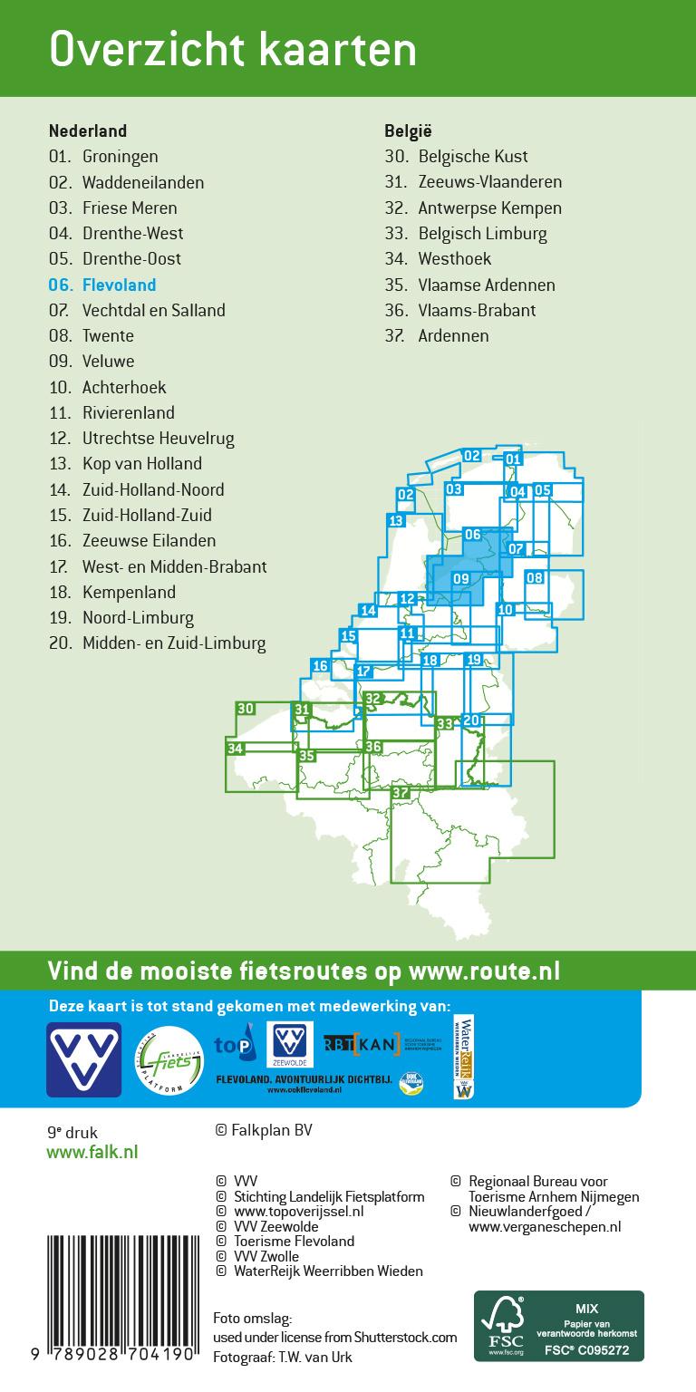 VVV Fietskaart 06. Flevoland, picture 374905857
