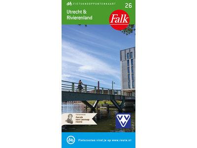 Falk Compact Fietskaart 26. Utrecht & Rivierenland, picture 374913228