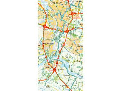 Falk Compact Fietskaart 26. Utrecht & Rivierenland, picture 374913237