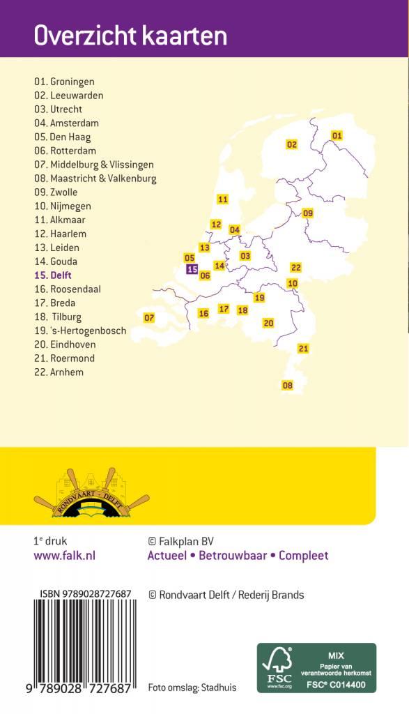 Falk Citymap & More 15. Delft, picture 85334300