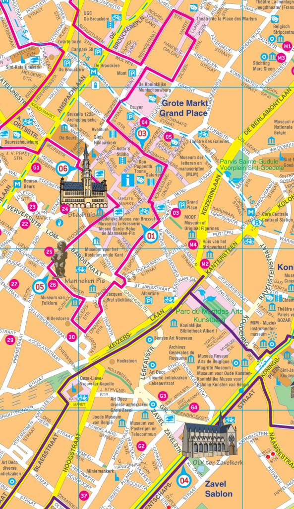 Falk Citymap & more 41. Brussel, picture 85334423