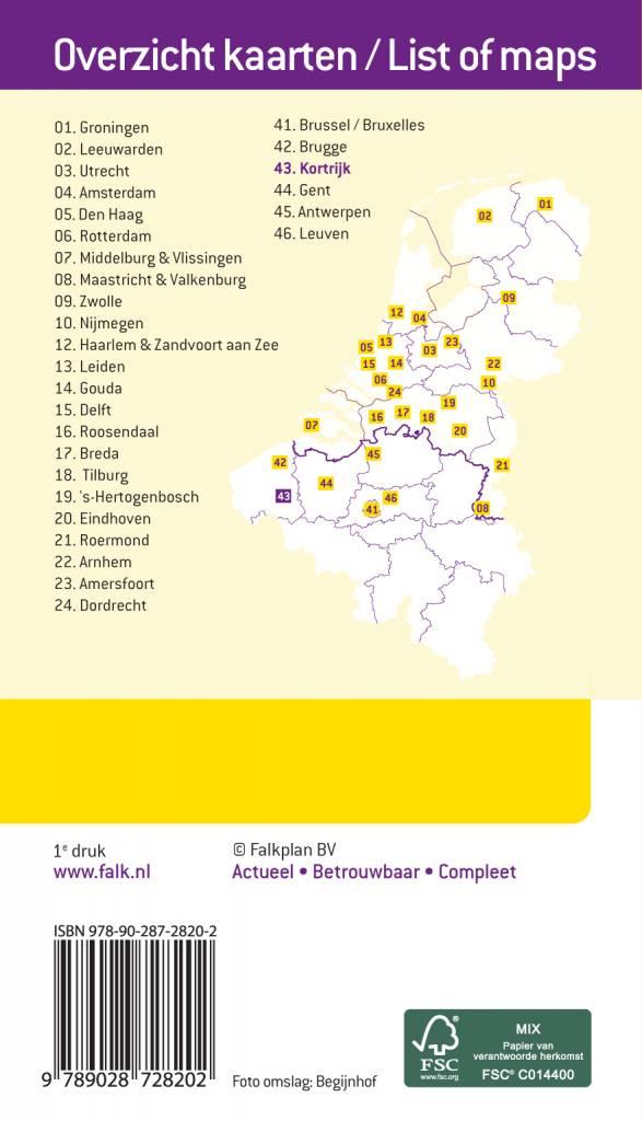 Falk Citymap & more 43. Kortrijk, picture 85334447
