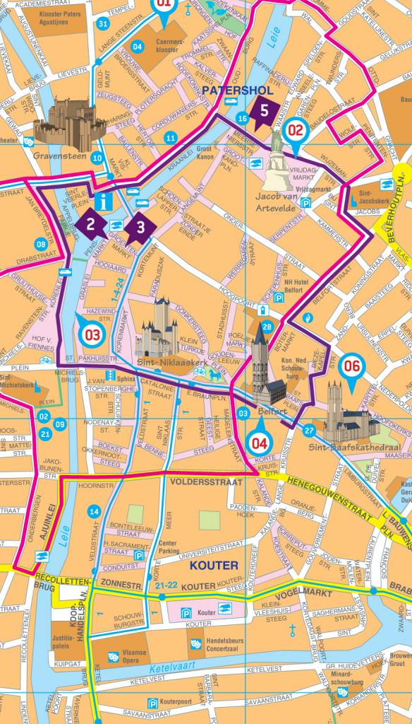 Falk Citymap & more 44. Gent, picture 85334459