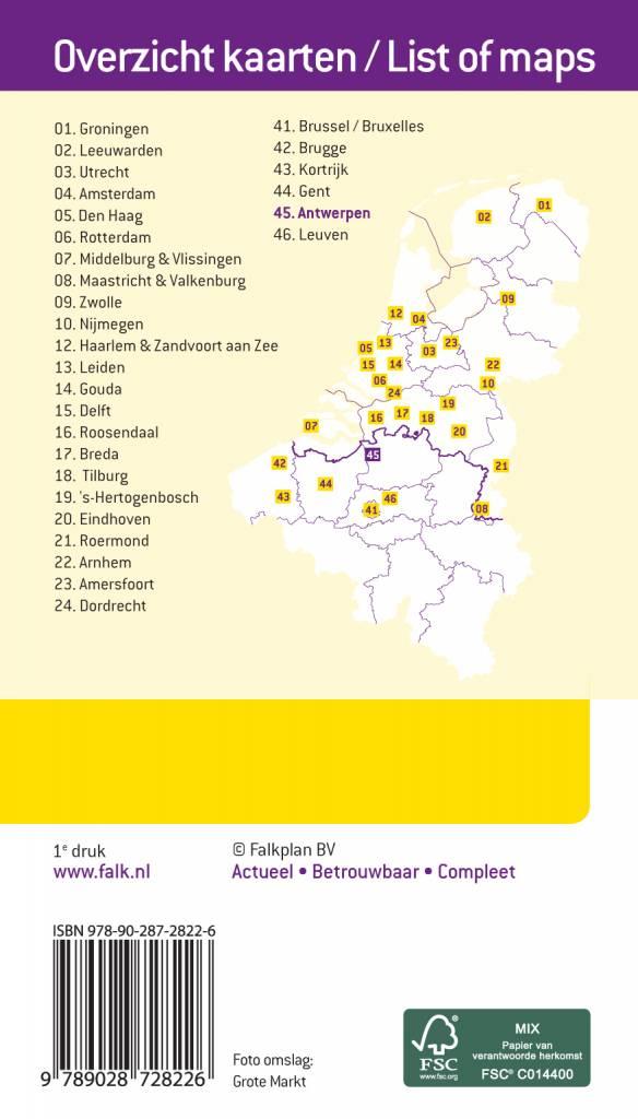 Falk Citymap & more 45. Antwerpen, picture 85334474