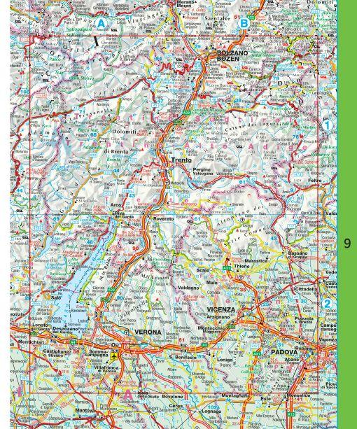Falk Routiq autokaart Italië en Zwitserland Tab Map, picture 85334531