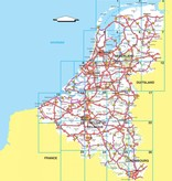 Falk Routiq autokaart Benelux Tab Map, picture 86019533