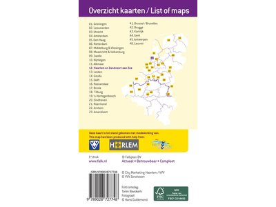 VVV Citymap & more 12. Haarlem en Zandvoort aan Zee, picture 86020244