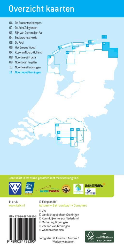 Falk 11. Noordoost Groningen met Borkum, picture 86020340