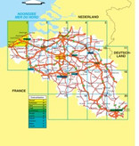 Falk Routiq autokaart België / Luxemburg Tab Map, picture 86024204