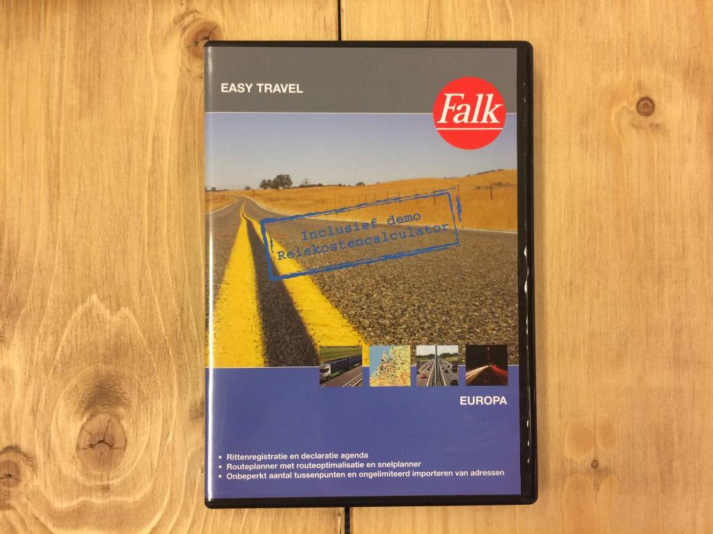 Falk EasyTravel Routeplanner Europa, picture 91098461