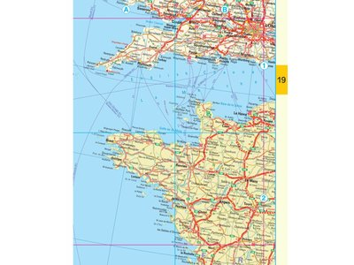 Falk Routiq autokaart Europa Tab Map, picture 91998644