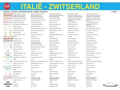 Falk Autokaart Italië/Zwitserland Professional, picture 98241077