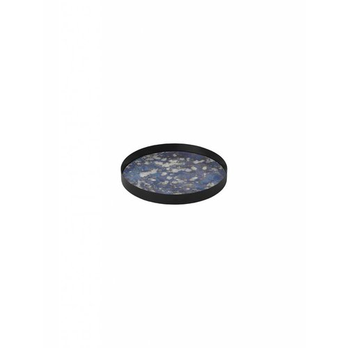 ferm LIVING Coupled Tray - Round - Blue - Large