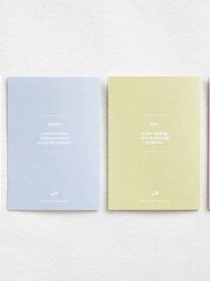 Ola Ola Foil Blocked Card Botanical Collection - Alyssum