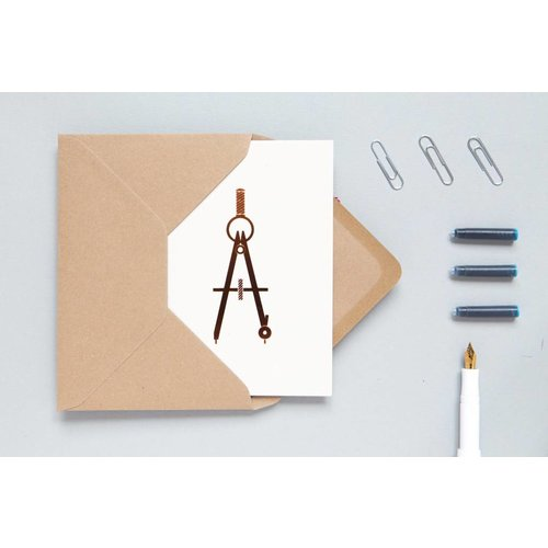 Ola Ola Foil Blocked Cards: Compass Stone/Copper