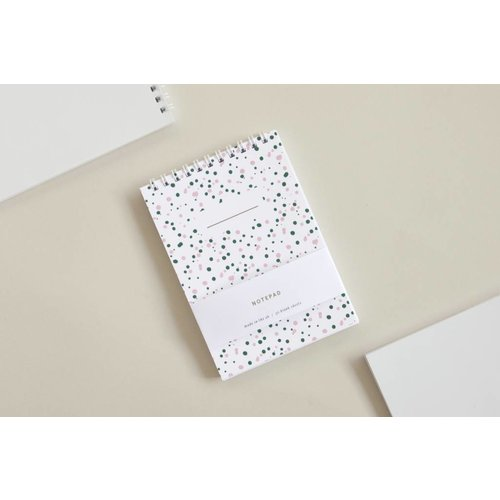 Ola Ola Pocket Notepad - Splatter Print