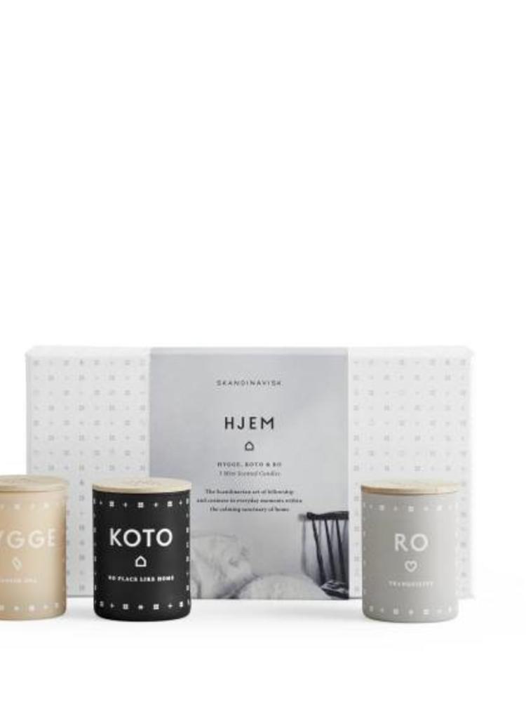 SKANDINAVISK Skandinavisk HOME Collection - Three Mini Candle Gift Set